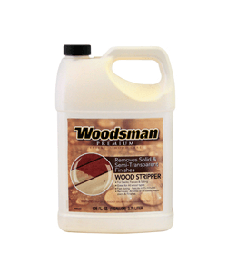 Woodsman premium wood stripper - Woodsman premium exterior wood care ...